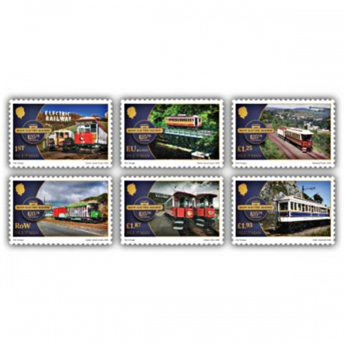 Manx Electric Railway 125th Anniversary Set (CTO)
